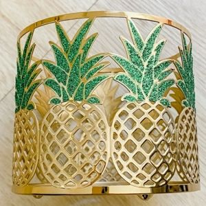PINEAPPLE3-Wick Candle Holder